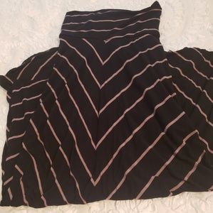 Dresses & Skirts - Maxi black/tan